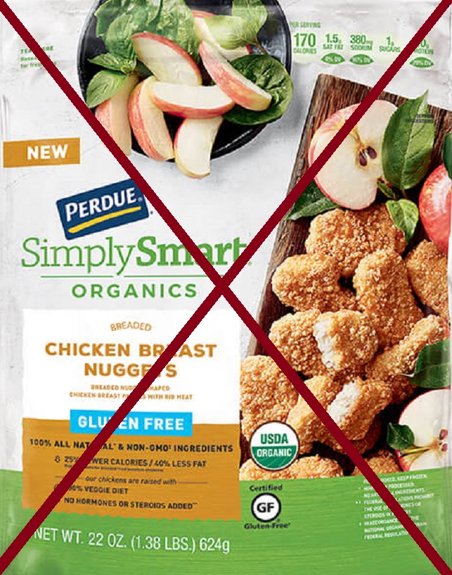 Tyson and Perdue recall over 50 Tons of Chicken Nuggets